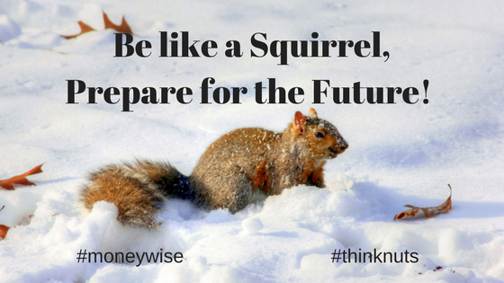 be like a squirrel